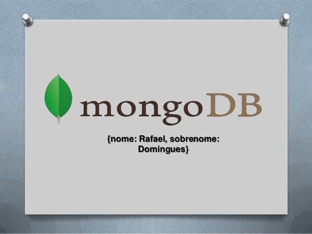 The Data Pub - MongoDB