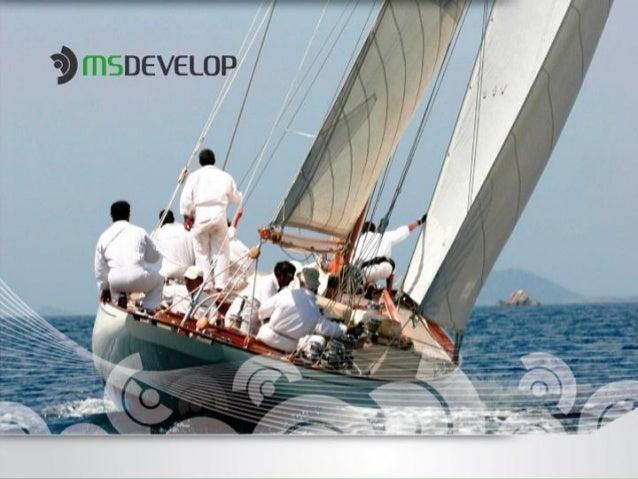 A MSDevelopDesde 1994 no mercado, a MSDevelop alia conhecimento técnico às mais completas soluções emTI, com foco nos resu...