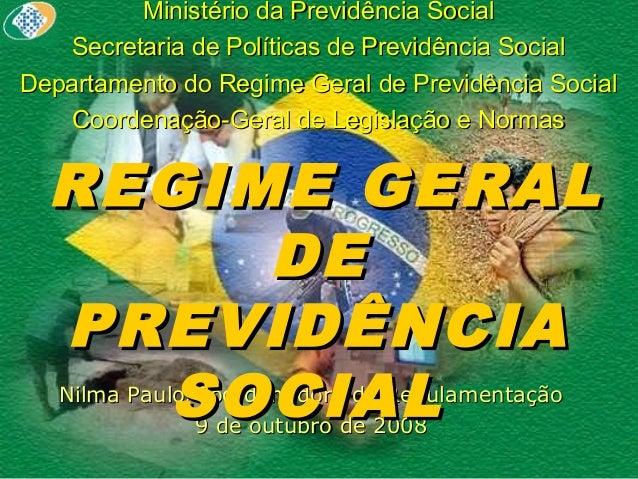 Ministério da Previdência SocialMinistério da Previdência Social Secretaria de Políticas de Previdência SocialSecretaria d...