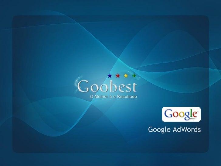 Apresentação oficial Goobest