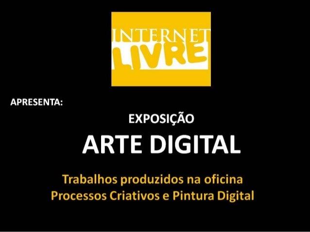 Exposição Arte Digital