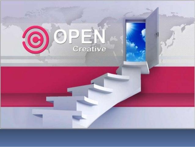 Apresentação open criative