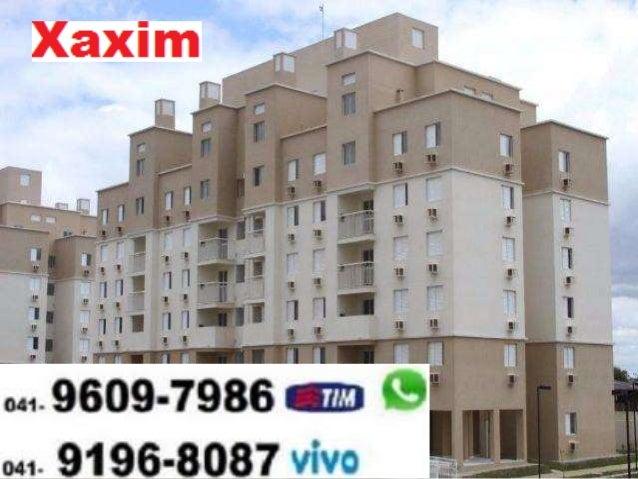 Parque Arvoredo XAXIM Curitiba Apartamento novo (41) 9609-7986 Tim WhatsApp 9196-8087 Vivo