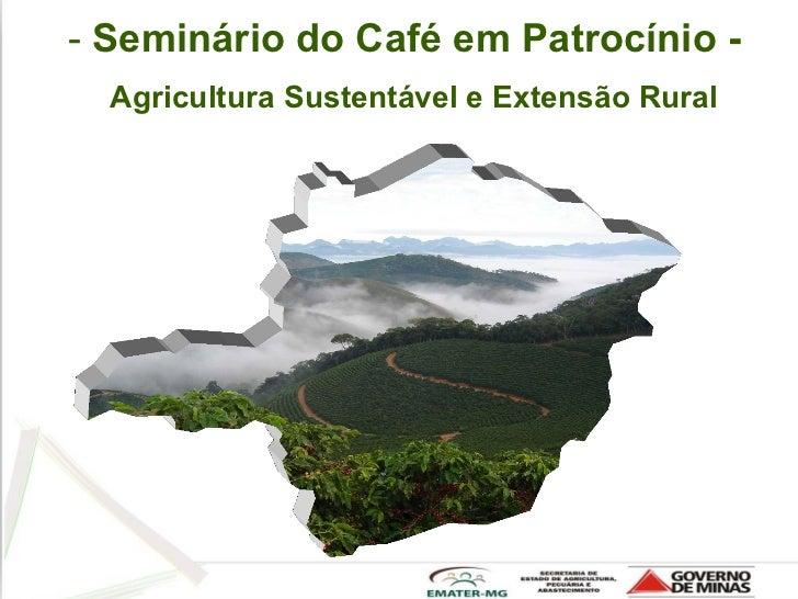 Palestra José Rogerio Emater - Agricultura Sustentável e Extensão Rural