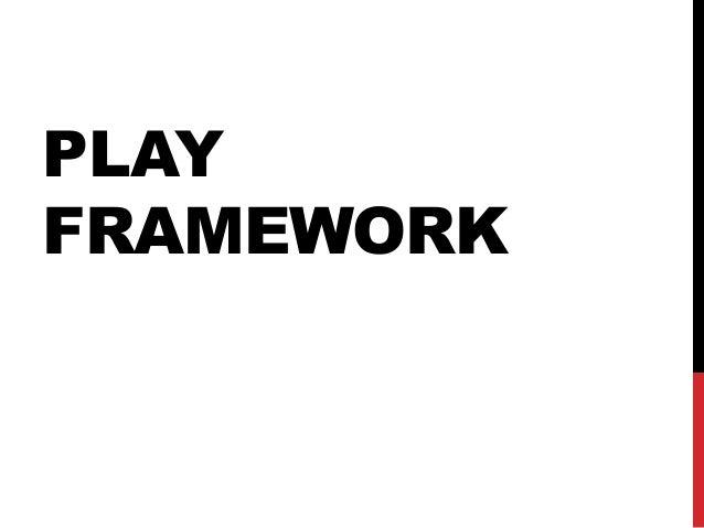 Apresentação play framework