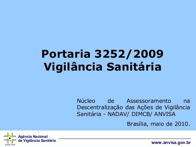 Apresentação+portaria+3252 09