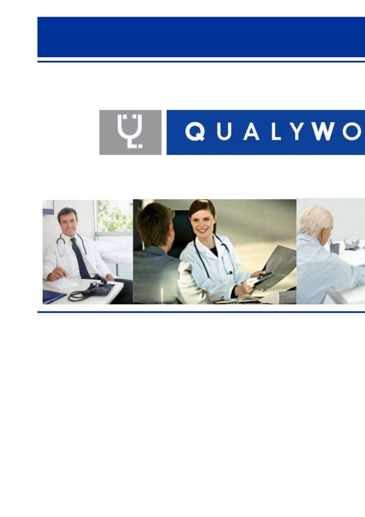 Apresentando a Qualywork. Medicina do Trabalho