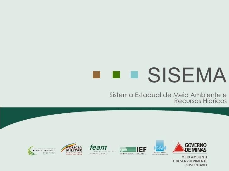 Apresentação de Adriano Magalhães - Secretário Secretário de Estado de Meio Ambiente e Desenvolvimento Sustentável de Minas Gerais