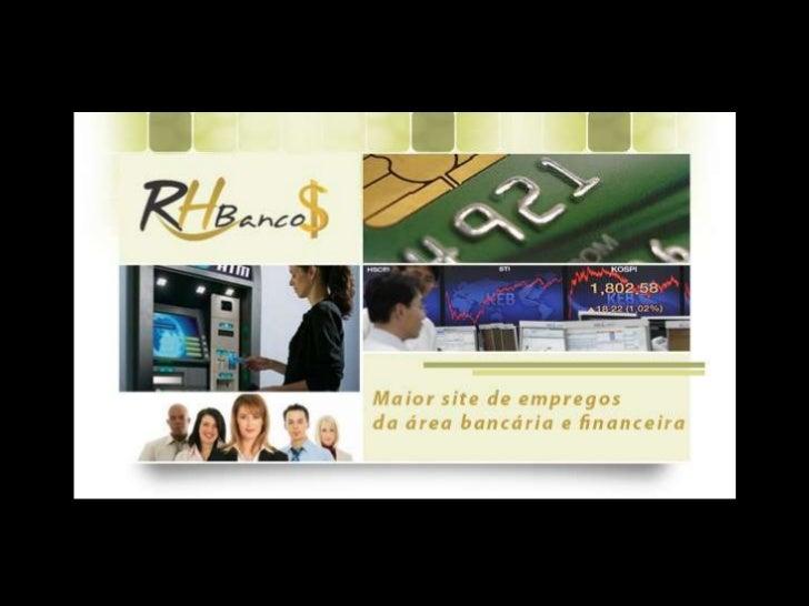 Apresentação Site RH Bancos