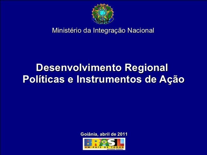 Desenvolvimento Regional - Políticas e Instrumentos de Ação por Sérgio Duarte