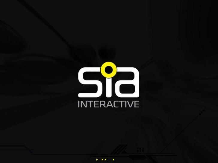 SIA Interactive Presentation