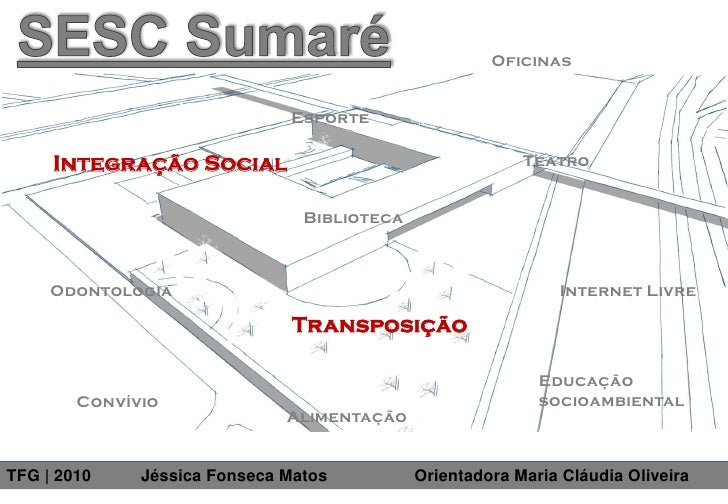TFG - SESC Sumaré 2010 - Jéssica Fonseca Matos