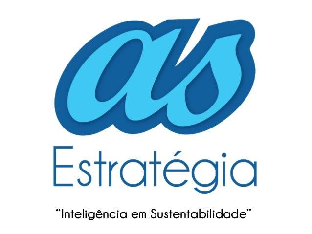 """""""Inteligência em Sustentabilidade"""""""