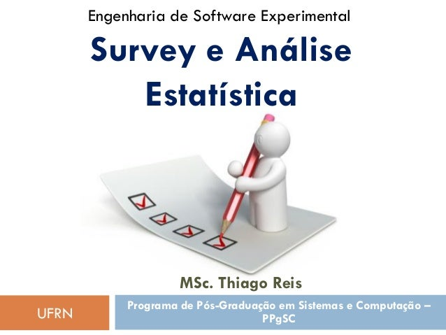 Survey e Análise Estatística