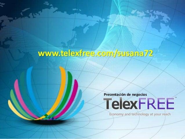 Presentación Telexfree Español