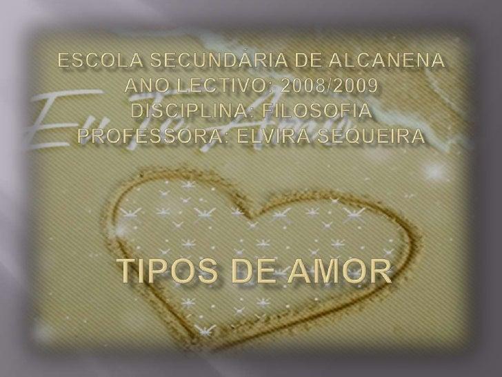 Tipos De Amor Lisa10ºA