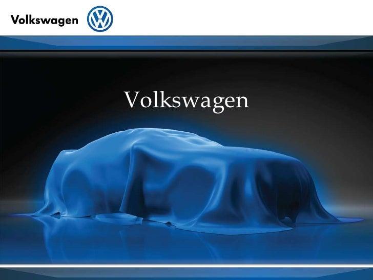 Apresentação Volkswagen