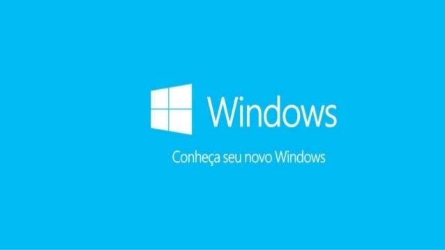 Apresentação Windows 8