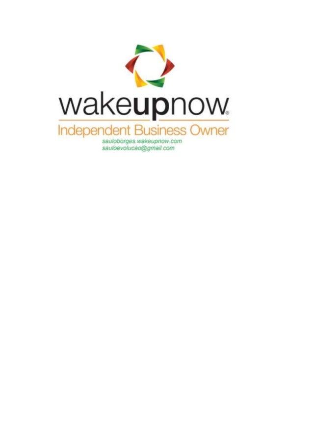cadastro: www.sauloborges.wakeupnow.com
