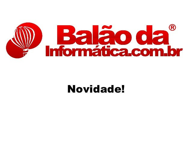Windows 8 - Balão da Informática!
