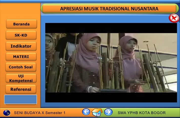 Apresiasi musik tradisional nusantara