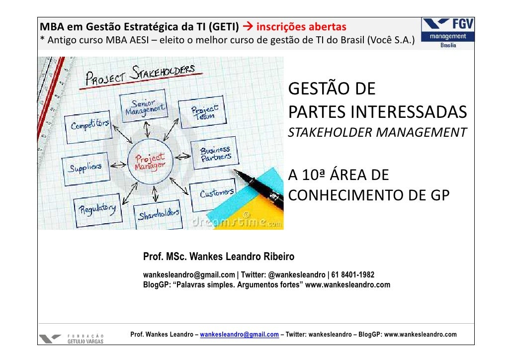 MBA em Gestão Estratégica da TI (GETI)                     inscrições abertas* Antigo curso MBA AESI – eleito o melhor cur...