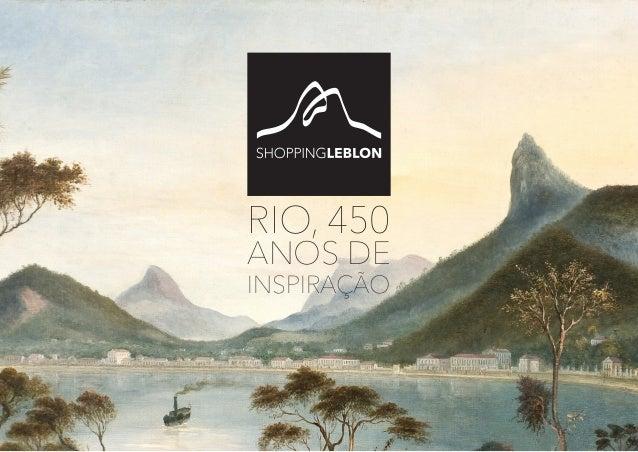 RIO, 450 ANOS DE INSPIRAÇÃO