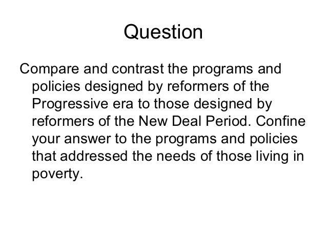 progressives versus new dealers essay