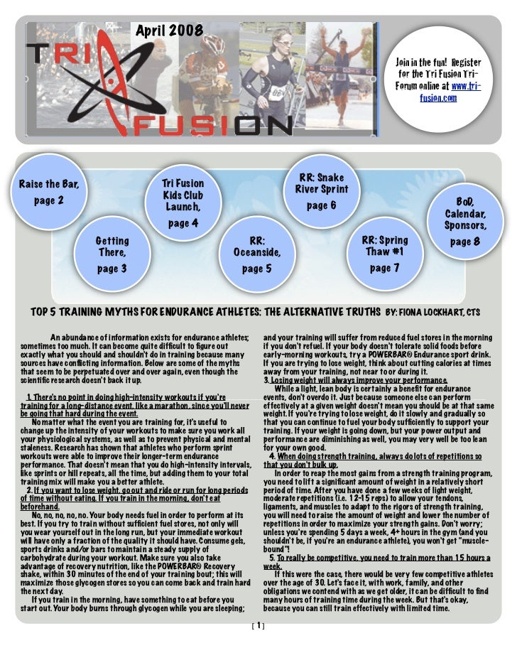 TriFusion Newsletter - Apr.'08