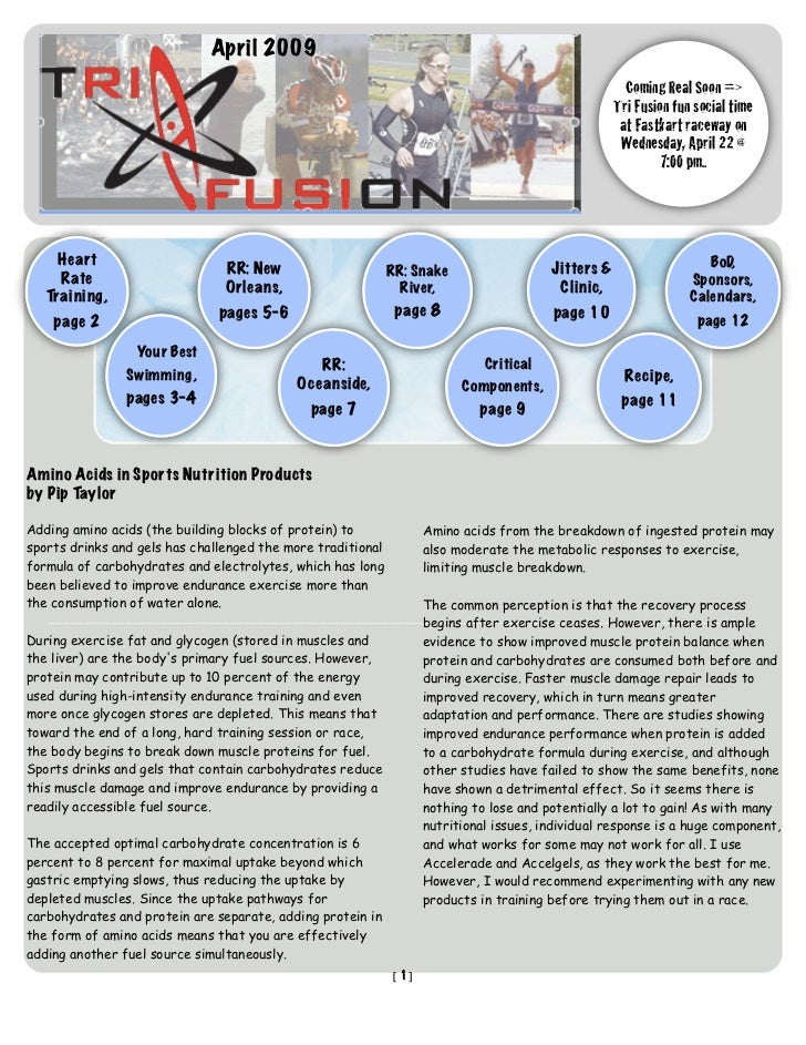 TriFusion Newsletter - Apr.'09