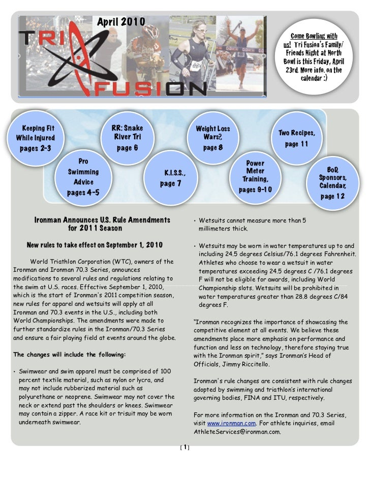 TriFusion Newsletter - Apr.'10
