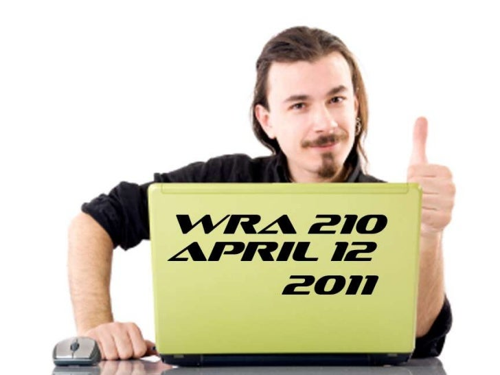 WRA 210 April 12th PowerPoint