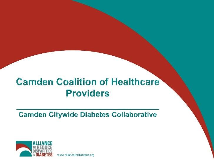 Camden Coalition of Healthcare Providers___________________________Camden Citywide Diabetes Collaborative<br />