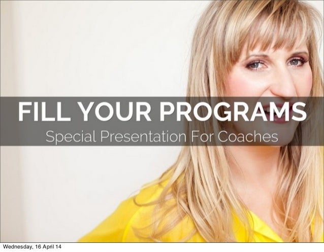 Fill Your Programs With Facebook Ads