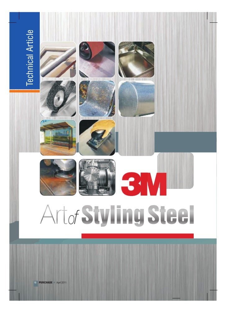 Technical Article - 3M Art of Styling Steel