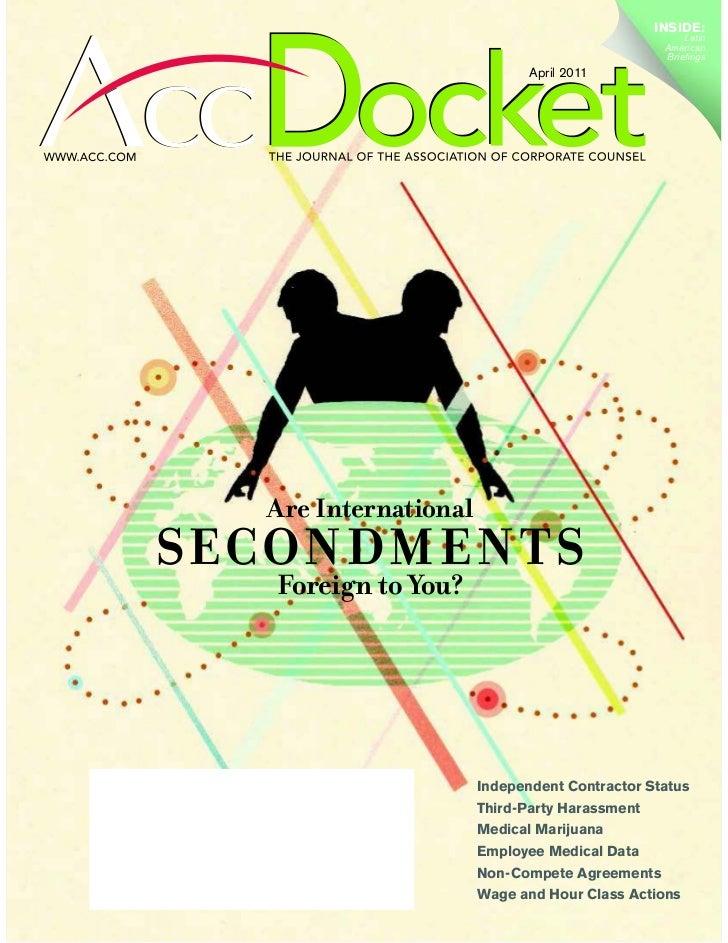 Apr 2011 ACC Docket A Worldwide Wiki FLETCHER