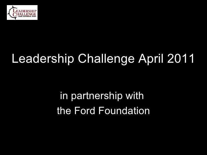 LC 2011 April Program
