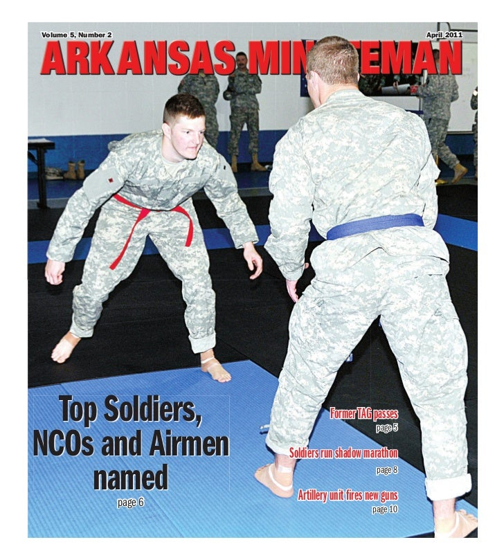 Volume 5, Number 2                                             April 2011  Top Soldiers,                          Former T...