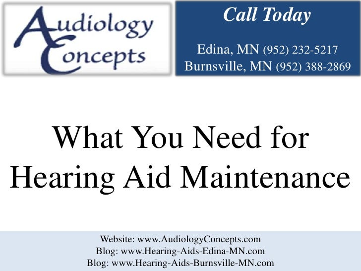 What You Need for Hearing Aid Maintenance