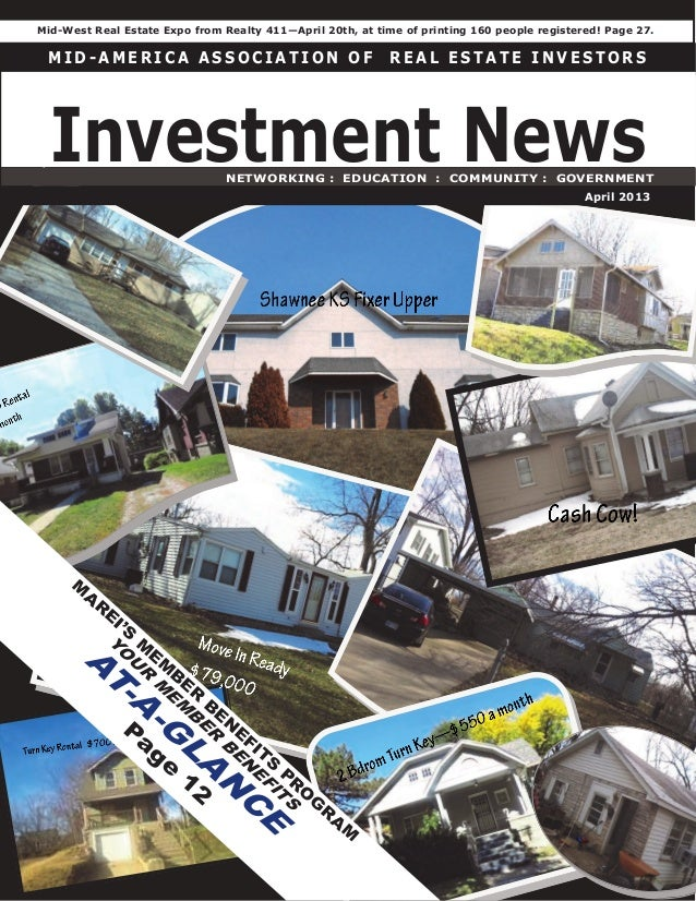 The RE Investment News:  April 2013