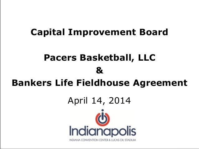 April 2014 Indy-Pacers Deal Presentation