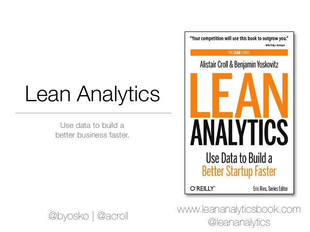 OnLab Japan introduction to Lean Analytics