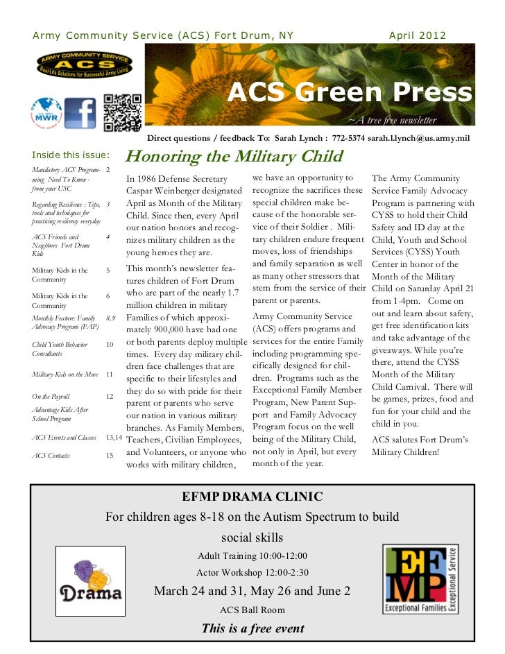 ACS Green Press - April 2012