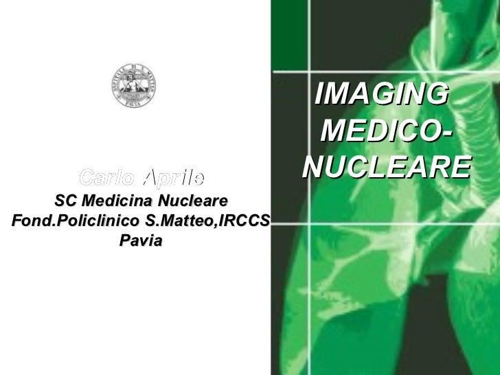 Imaging con Scintigrafia