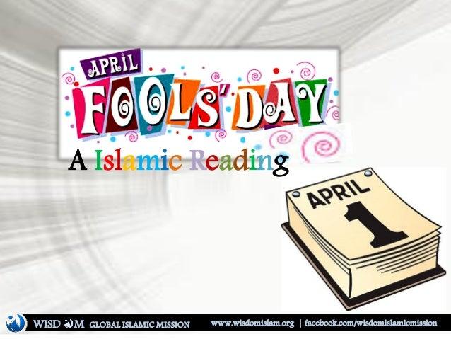 A Islamic Reading WISD M www.wisdomislam.org | facebook.com/wisdomislamicmissionGLOBAL ISLAMIC MISSION