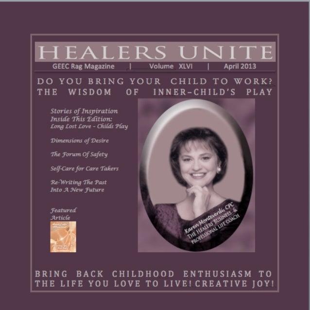 Healers Unite Magazine | April 2013