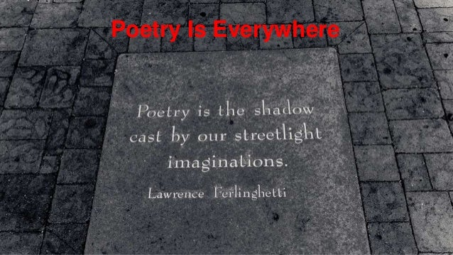 April is national poetry month (created by Christine Heaton, HBHS Library)