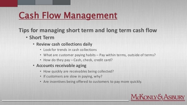 Cash Management Skills Cash Flow Management ...