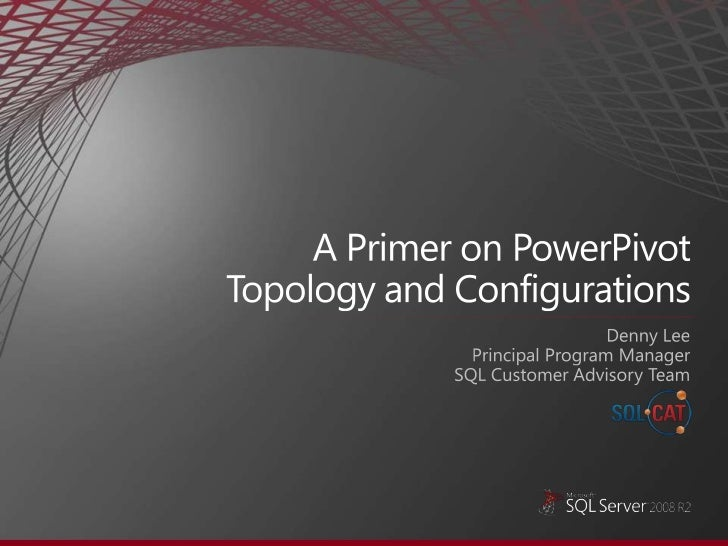 A primer on power pivot topology and configurations