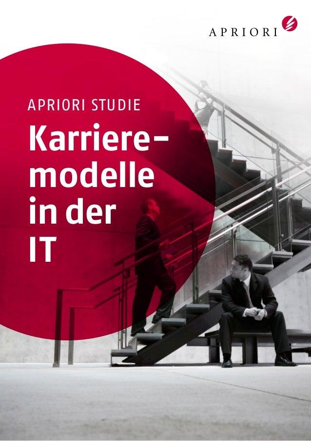 APRIORI Studie: Karrieremodelle in der IT